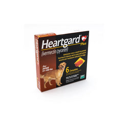 Heartgard Brown Plus 272mcg Chewable 6S 51-100lbs