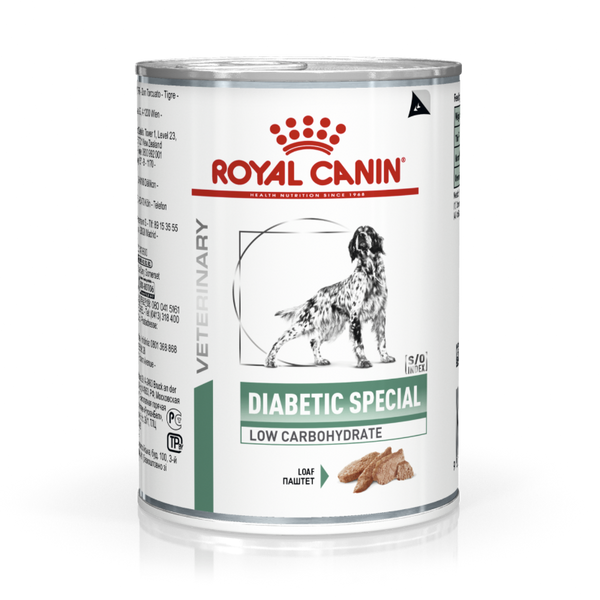 RC Dog Diabetic Special Low Carb 410g