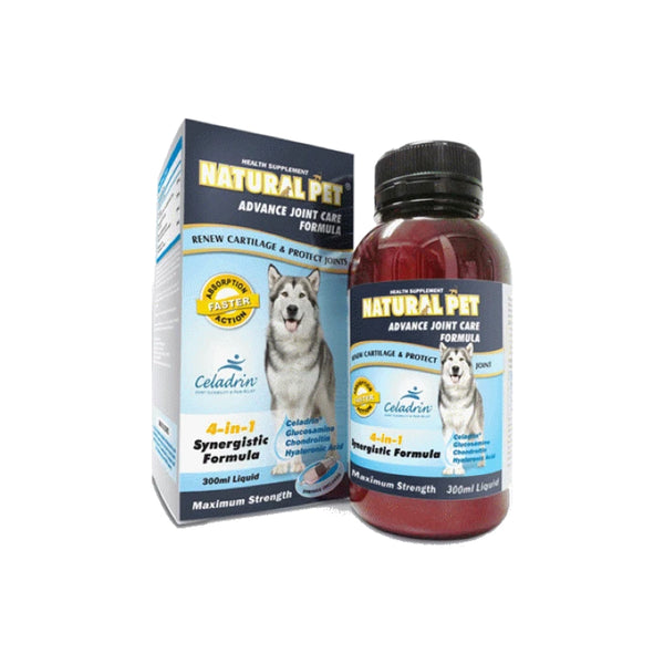 Natural Pet Advanced Joint Care Formula Liquid 300ml