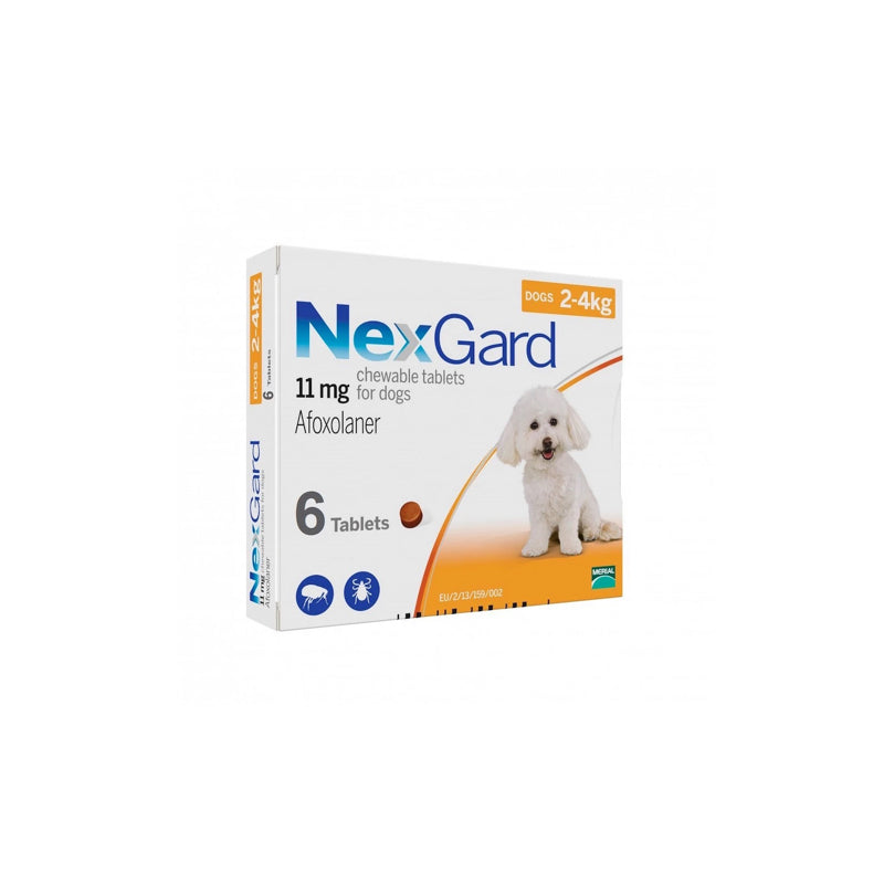 Nexgard 2-4kg Box of 3