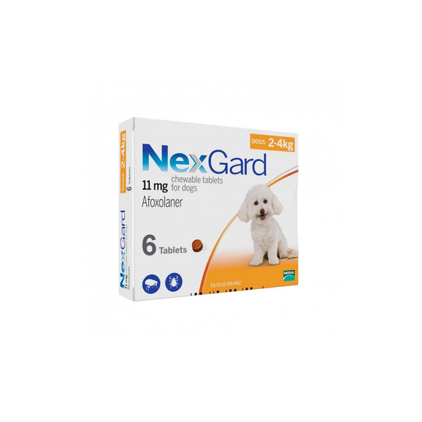 Nexgard 2-4kg Box of 6