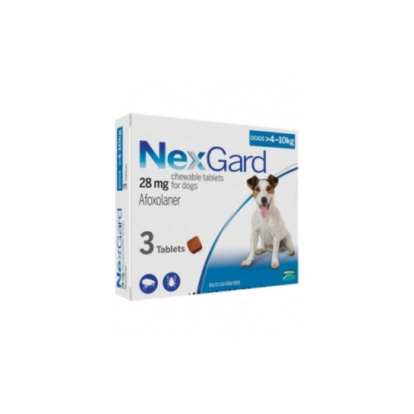 Nexgard 4-10kg Box of 3