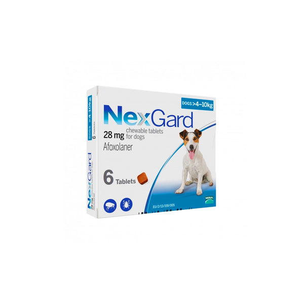 Nexgard 4-10kg Box of 6