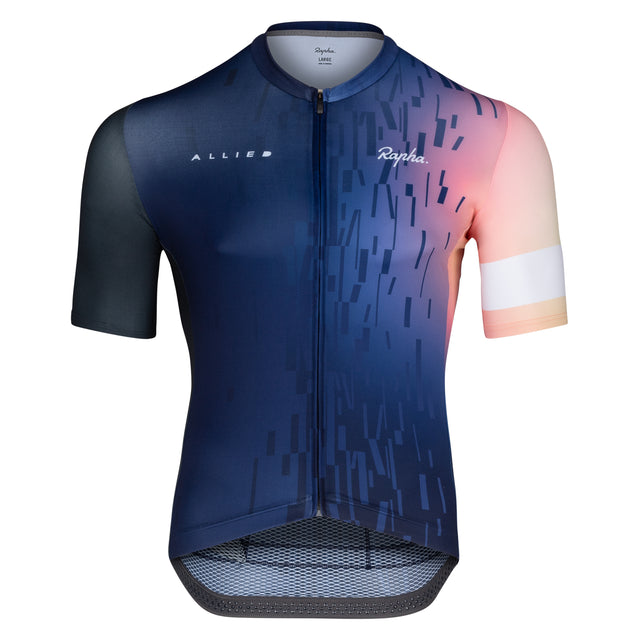 Rapha Pro Team Midweight Custom Allied Short Sleeve Jersey - Men's