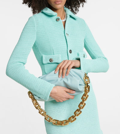 POUCH CHAIN BAG : SKY BLUE