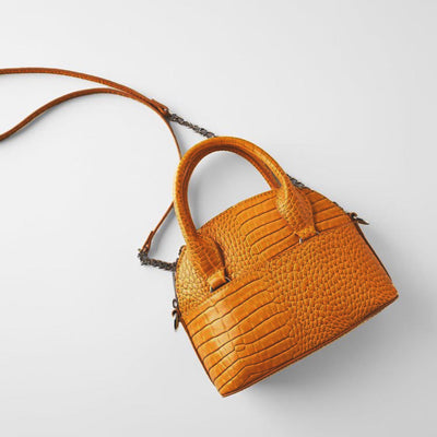 ANIMAL PRINT BAG : ORANGE