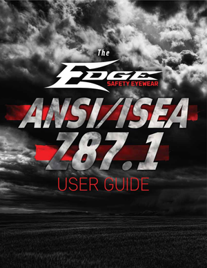 Edge Eyewear ANSI/ISEA Z87.1 User Guide