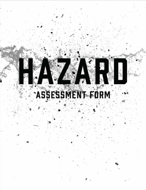 ANSI/ISEA Z87.1 Hazard Assessment Form