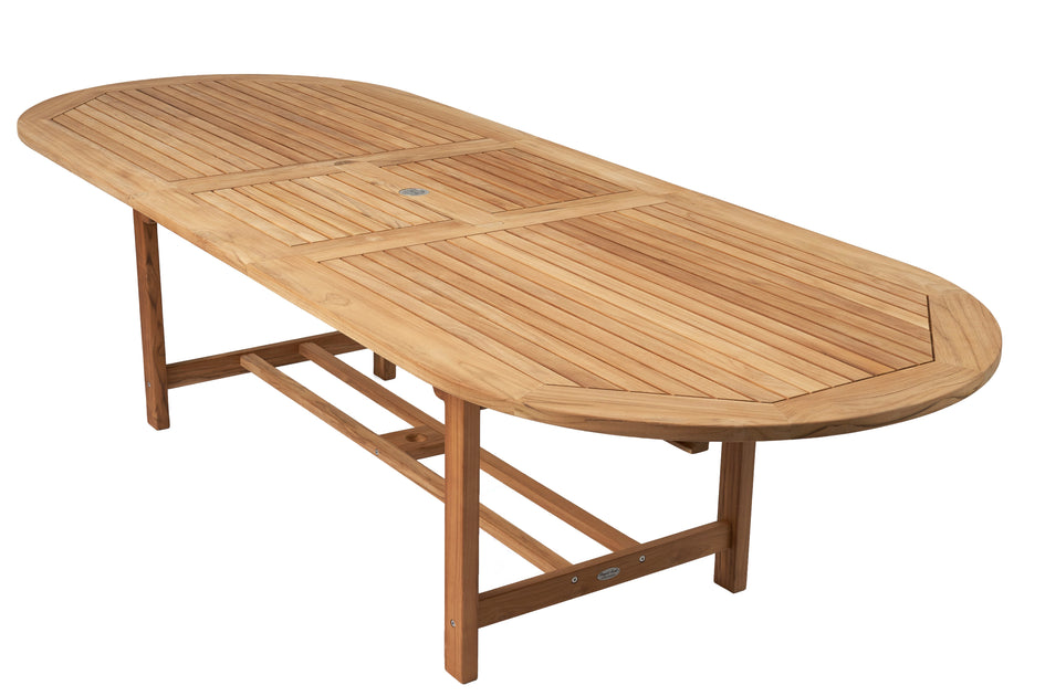Family Expansion Oval Table Teak Table Outdoor