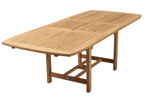 Expansion Dining Tables - Rectangle (3 Sizes)