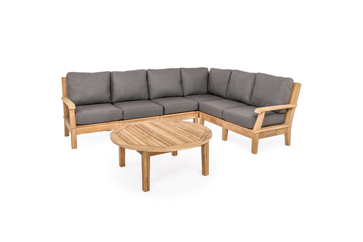 Harbor 7X9 Teak Sectional Set