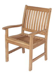 Royal Teak Collection Compass Arm Chair