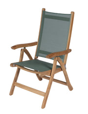Royal Teak Collection Florida Chair - Moss Sling