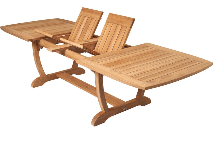Royal Teak Collection Double Leaf outdoor table