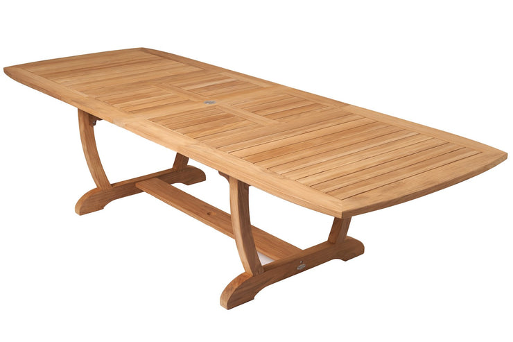 Double Leaf Expansion Dining Table