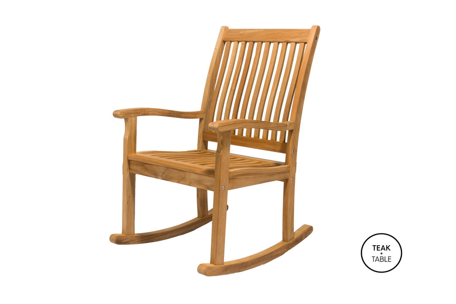 Classic High Back Rocking Chair