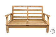 Miami Love Seat Royal Teak Collection