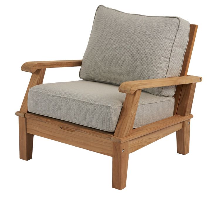 Royal Teak Collection Outdoor Teak Lounge Chair