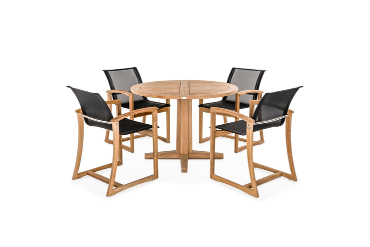 The Capri 4-Piece Dining Set