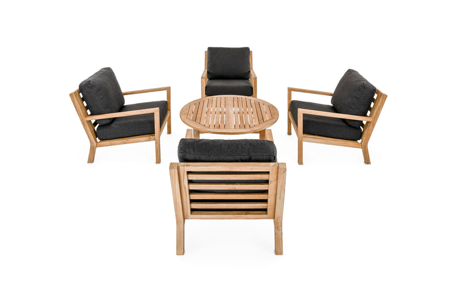 Pacific 5 PC Lounge Set