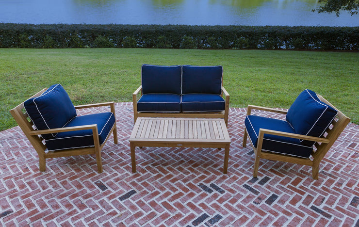 Royal Teak Collection Coastal Loveseat
