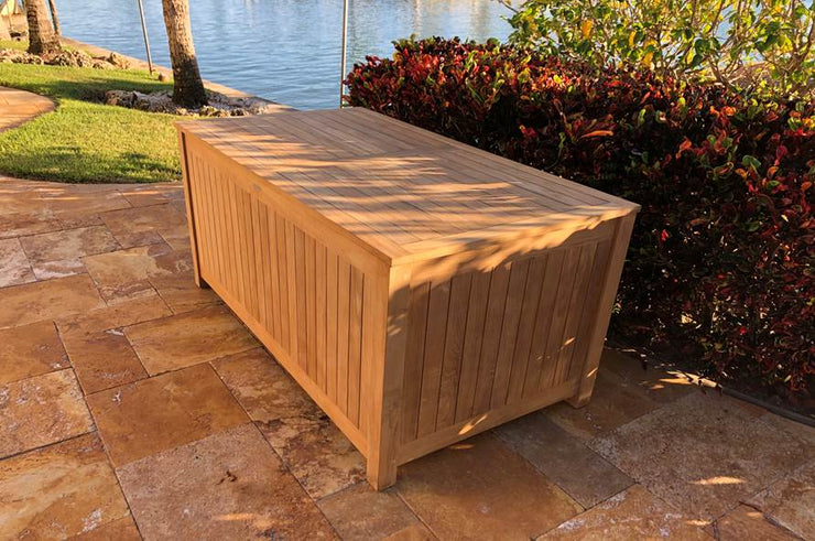 Harbor XL Teak Storage Box