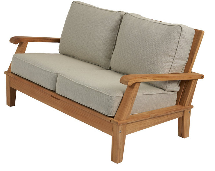 Royal Teak Collection Outdoor Teak Loveseat