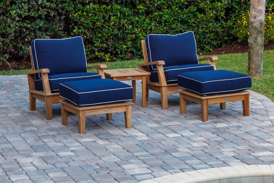 Harbor Reclining Club Chair 5-Piece Set
