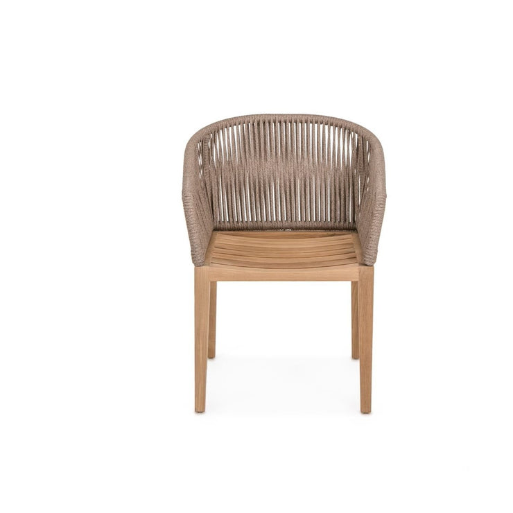 Rope Dining Chair (Brown)