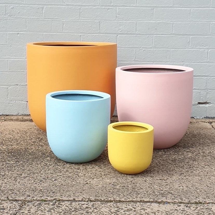Urban Diddle Light Weight Polystone Pots