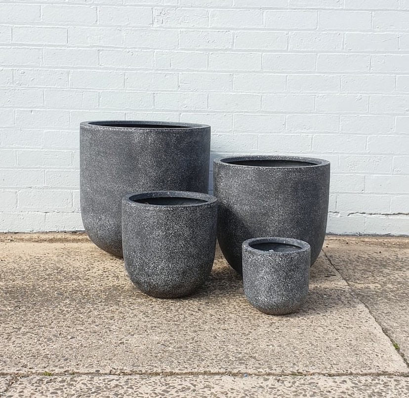 Urban Diddle Light Weight Terrazzo Pots