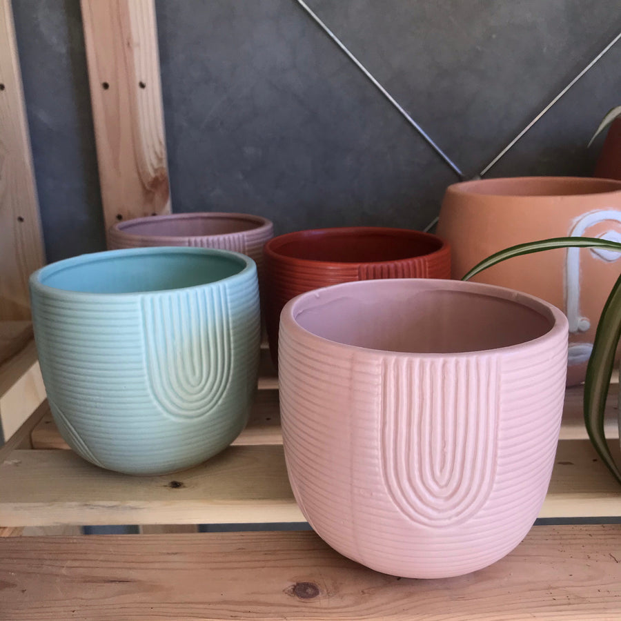 Rainbow Planter Terracotta Small