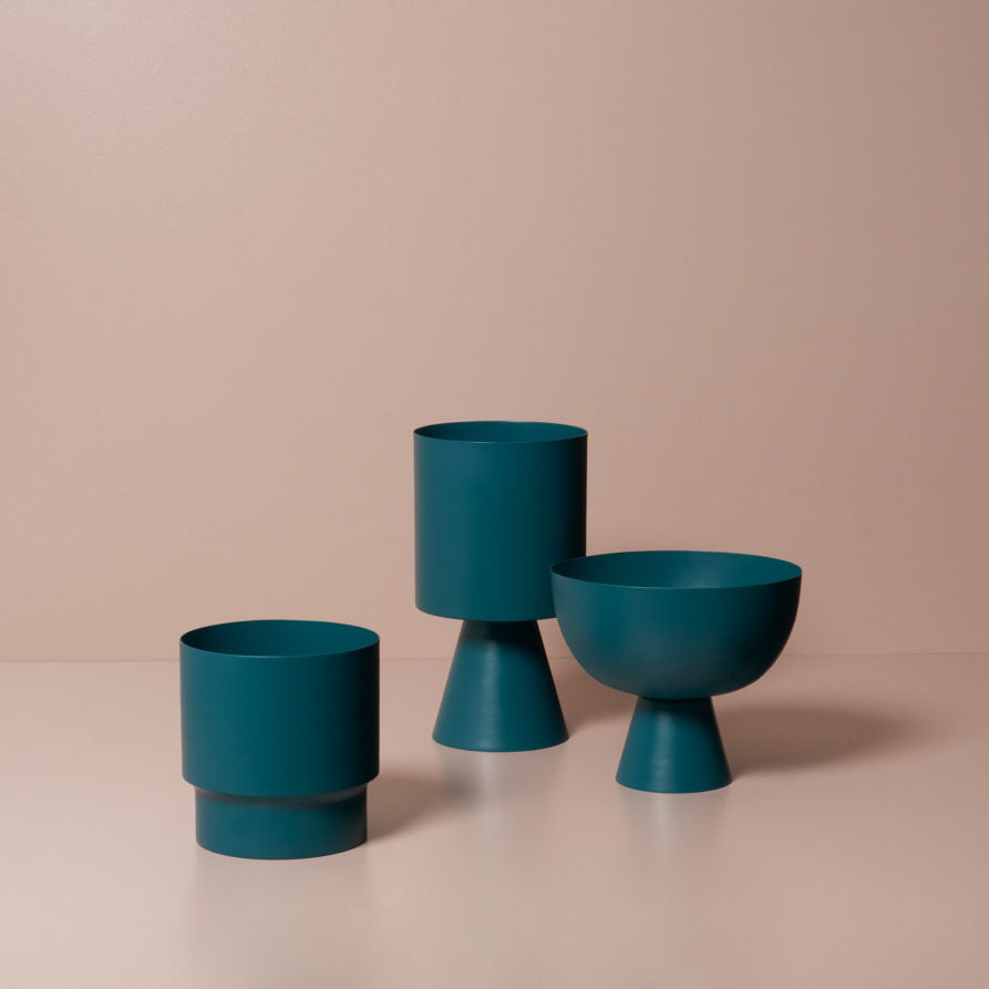 Palm Springs Planter - Teal