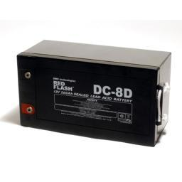 Red Flash Battery DC-8D Deep Cycle 12V 260Ah - Dms Shop