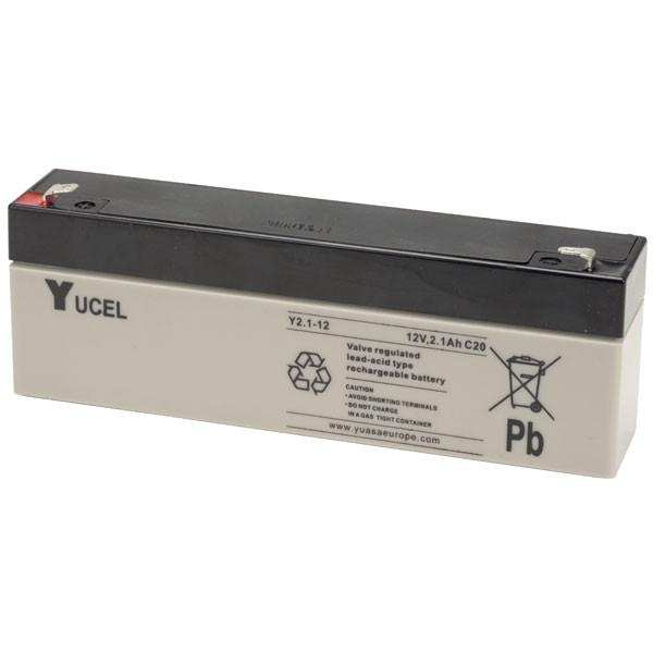 YUCEL 2.1-12 Yuasa Lead-Acid Battery 12V 2.1Ah - Dms Shop