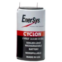 Cyclon D-cell Sealed-Lead Battery 2V 2.5Ah - Dms Shop