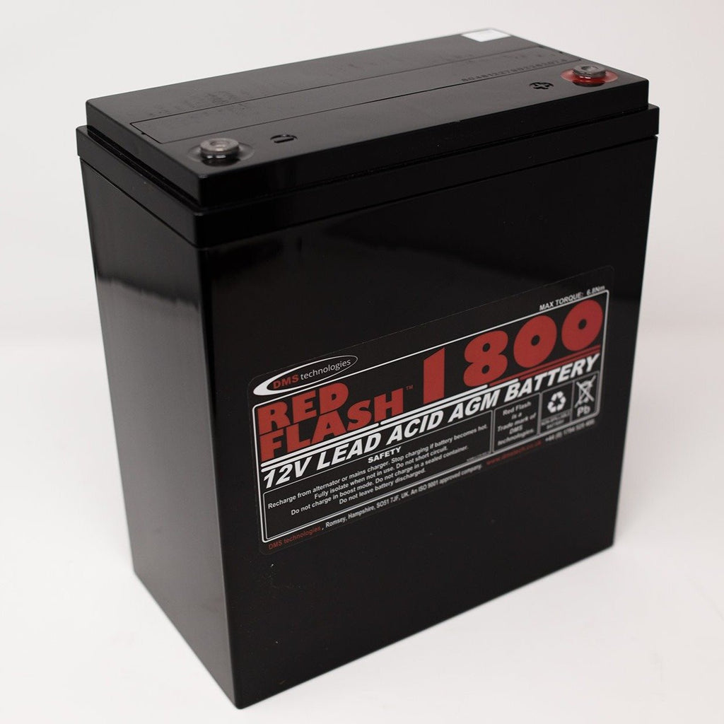Red Flash Battery 1800 12V 60Ah Lead Acid
