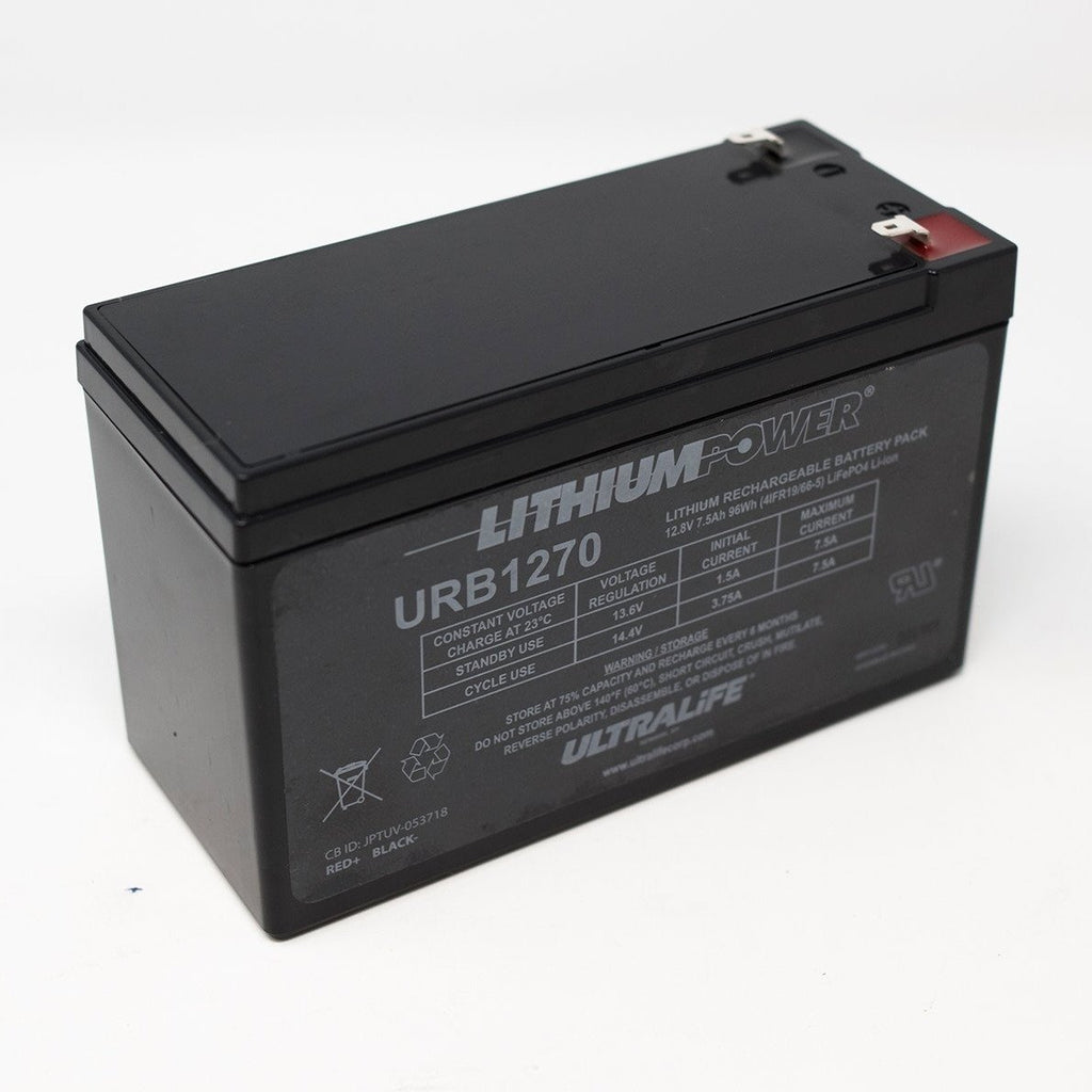 Ultralife Lithium Deep Cycle Battery URB1270 12V 7.5Ah - Dms Shop