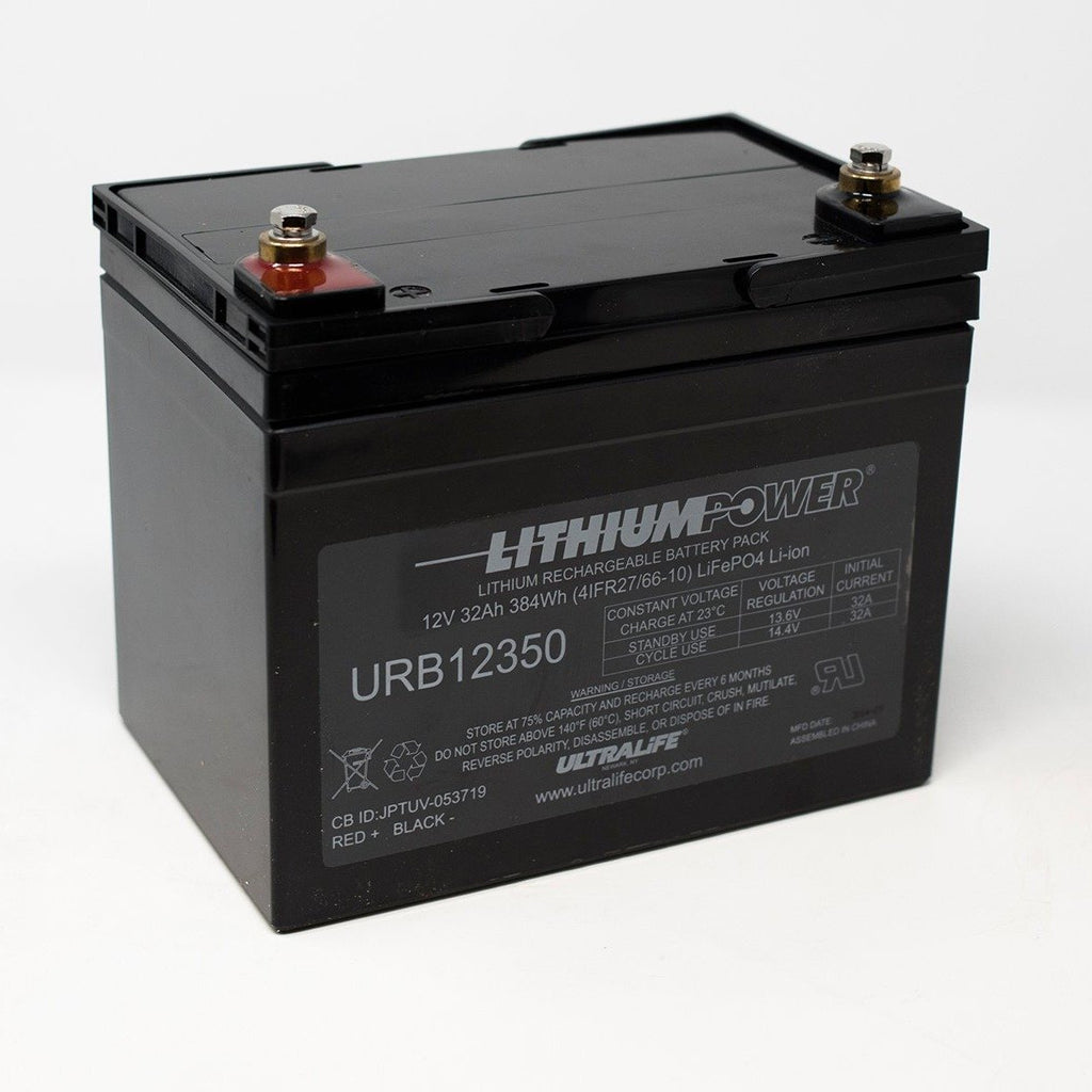 Ultralife Lithium Deep Cycle battery URB12350 12V 32Ah