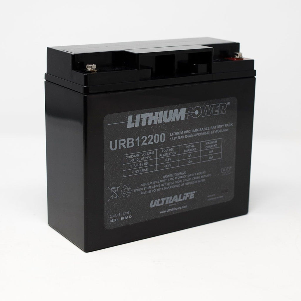 Ultralife Lithium Deep Cycle Battery URB12200 12V 20Ah