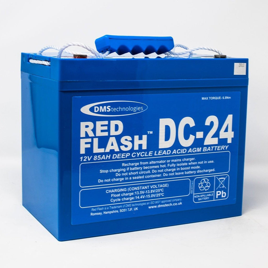 Red Flash Battery DC-24 Deep Cycle 12V 85Ah - Dms Shop