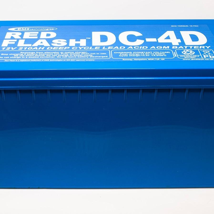 Red Flash Battery DC-4D Deep Cycle 12V 210Ah - Dms Shop