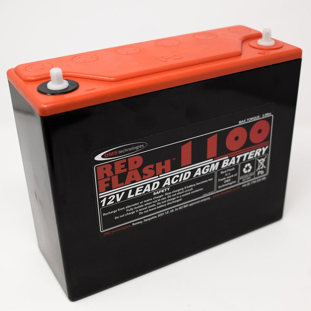 Red Flash Battery 1100 12V 38Ah Lead Acid