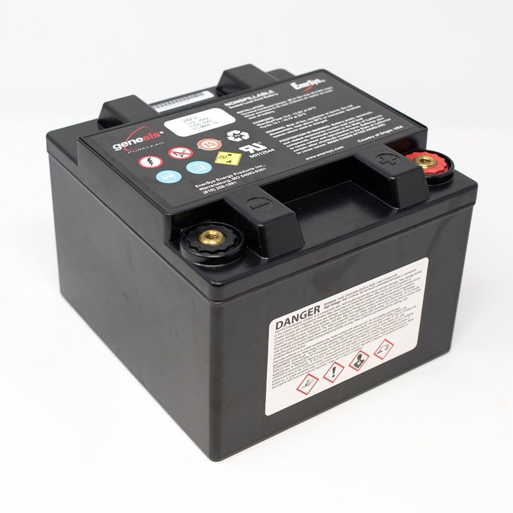 Genesis 12V 26Ah EP Sealed Lead-Acid Battery - Dms Shop