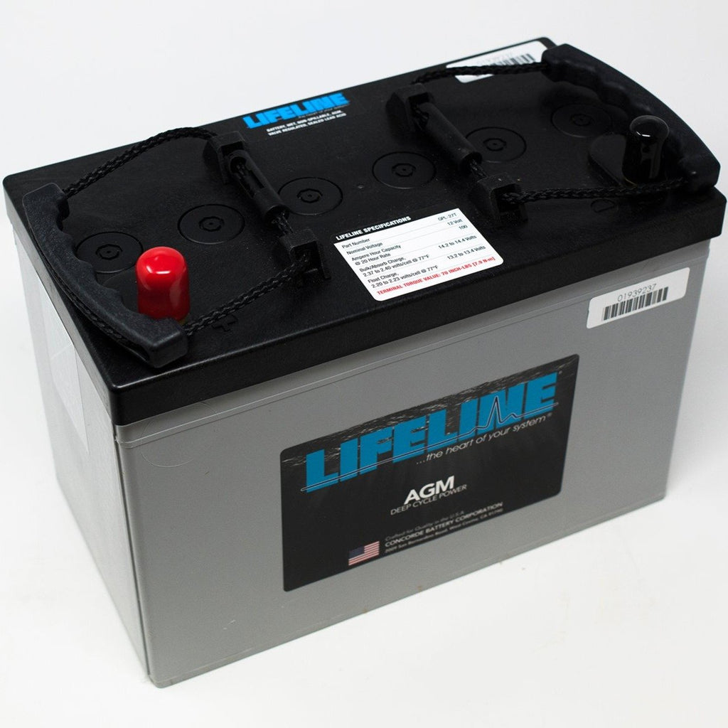 Lifeline Deep Cycle Battery GPL-27T 12V 100Ah