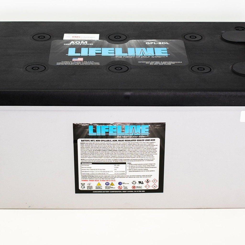 Lifeline Deep Cycle Battery GPL-8DL 12V 255Ah