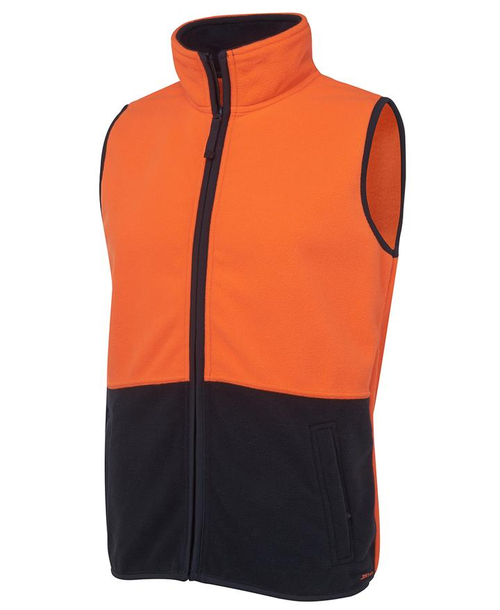 Hi Visibilty Polar Vest- Star Uniforms Australia