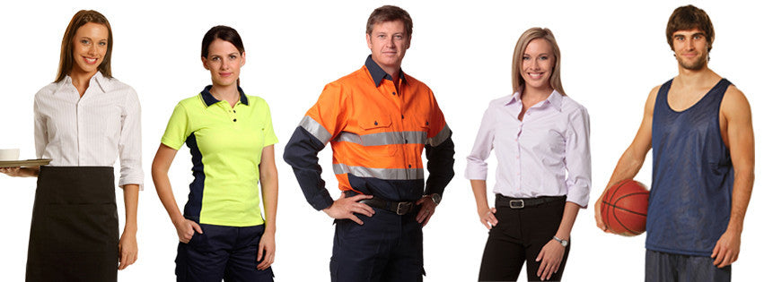 Uniforms wholesalers in Australia, Supply embroidered and printed work wear clothing Australia wide, We are work wear supplier in Sydney and Australia wide, We do embroidery in house for all kinds of clothing. we also sell printed work wear and uniforms.