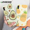 Avocado Fruits Phone Cases