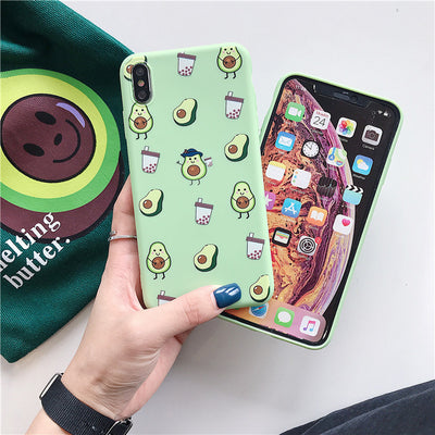 Summer Fruits Avocado Case For iPhone